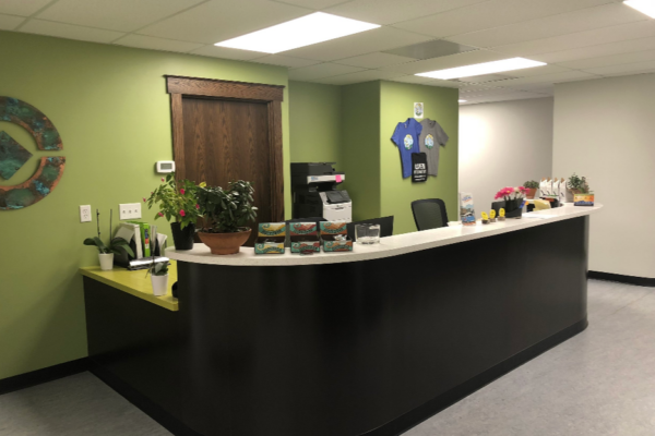 Front desk within Aspen Integrative Medical Clinic