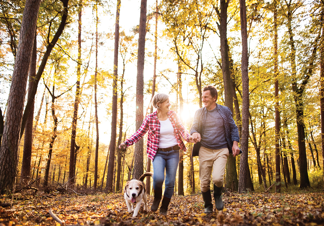Providing holistic healing through Naturopathic Care in Flagstaff, Arizona. A middle aged couple proactively uses Naturopathic Care to enhance their lifestyle.