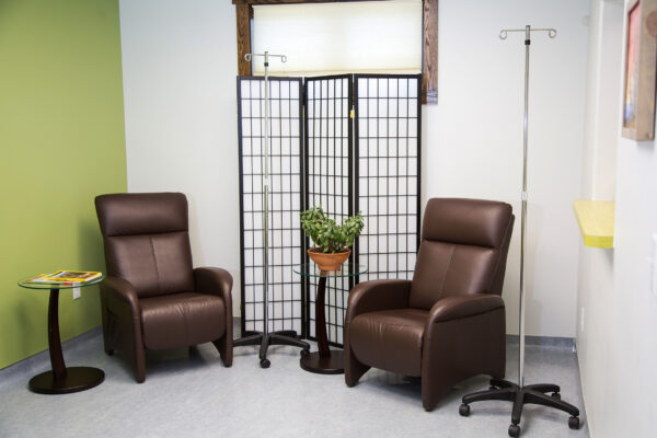 IV therapy, naturopathic care room