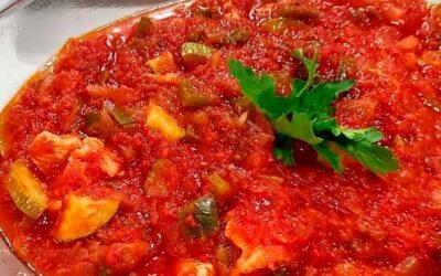 Magro con tomate