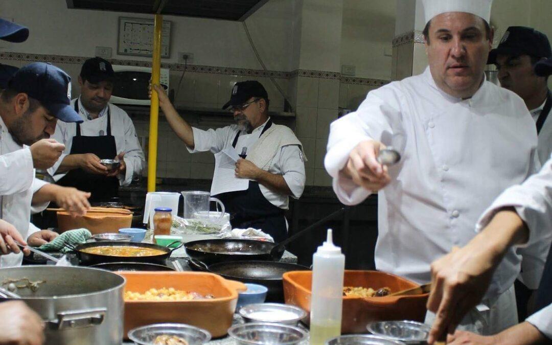 Seminario cocina española en la Rioja, Argentina