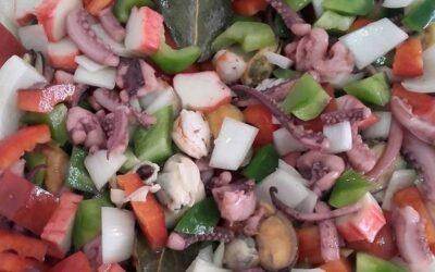 Salpicón de mariscos