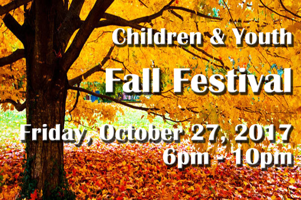 Children & Youth Fall Festival
