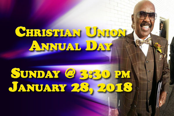 Christian Union Annual Day