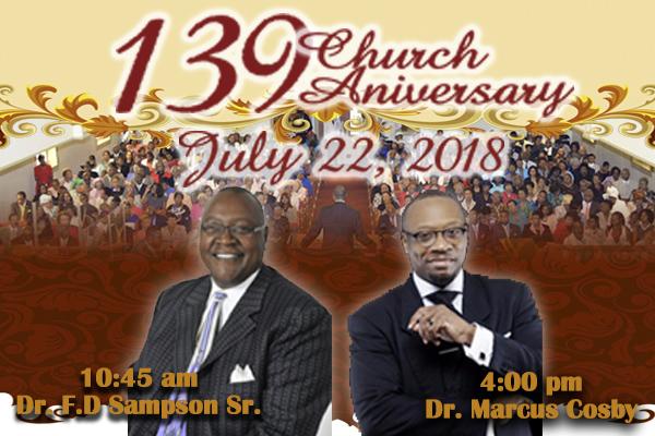 139th Church Anniversary
