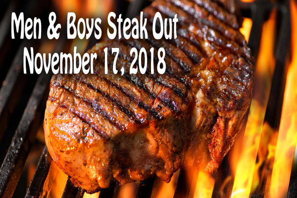 2018 Men and Boys Steak-Out