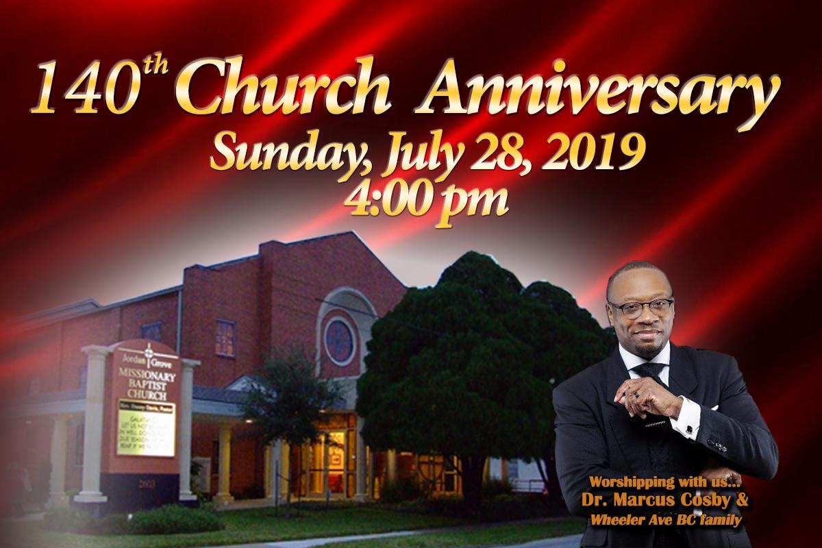 140th Church Anniversary