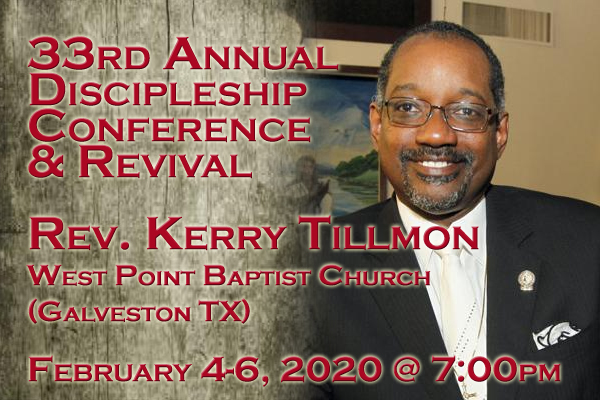 Discipleship Conference