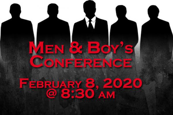 Men & Boy's Conference