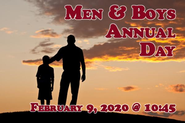 Men's Annual Day