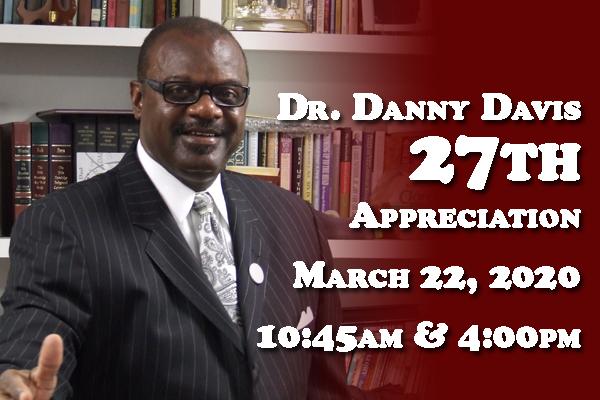 Pastor Davis 27th Appreciation Service