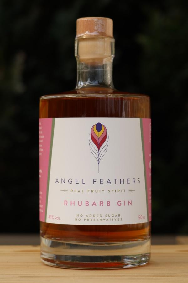 Angel Feathers - Rhubarb Gin
