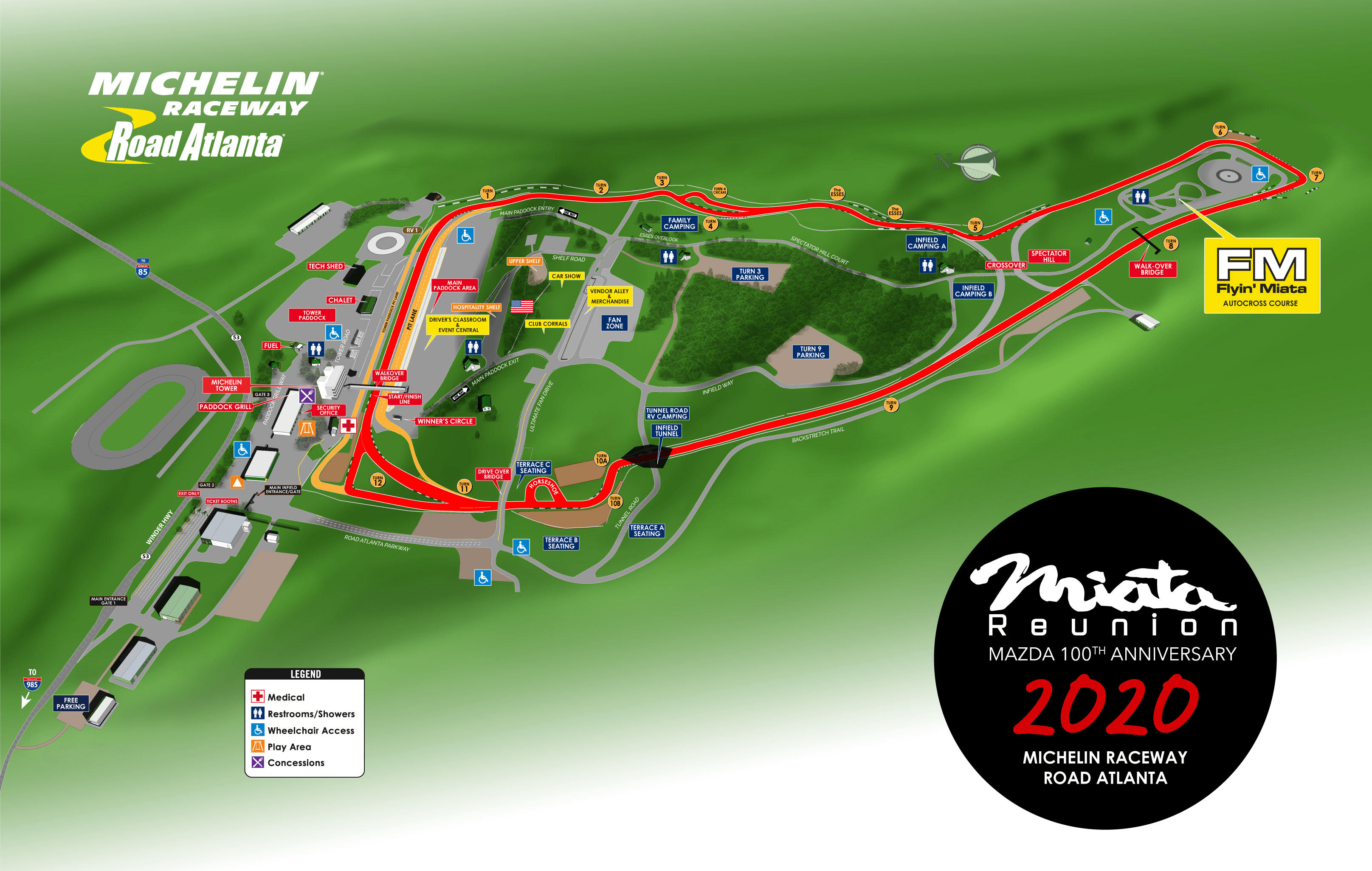 Overall Track Map