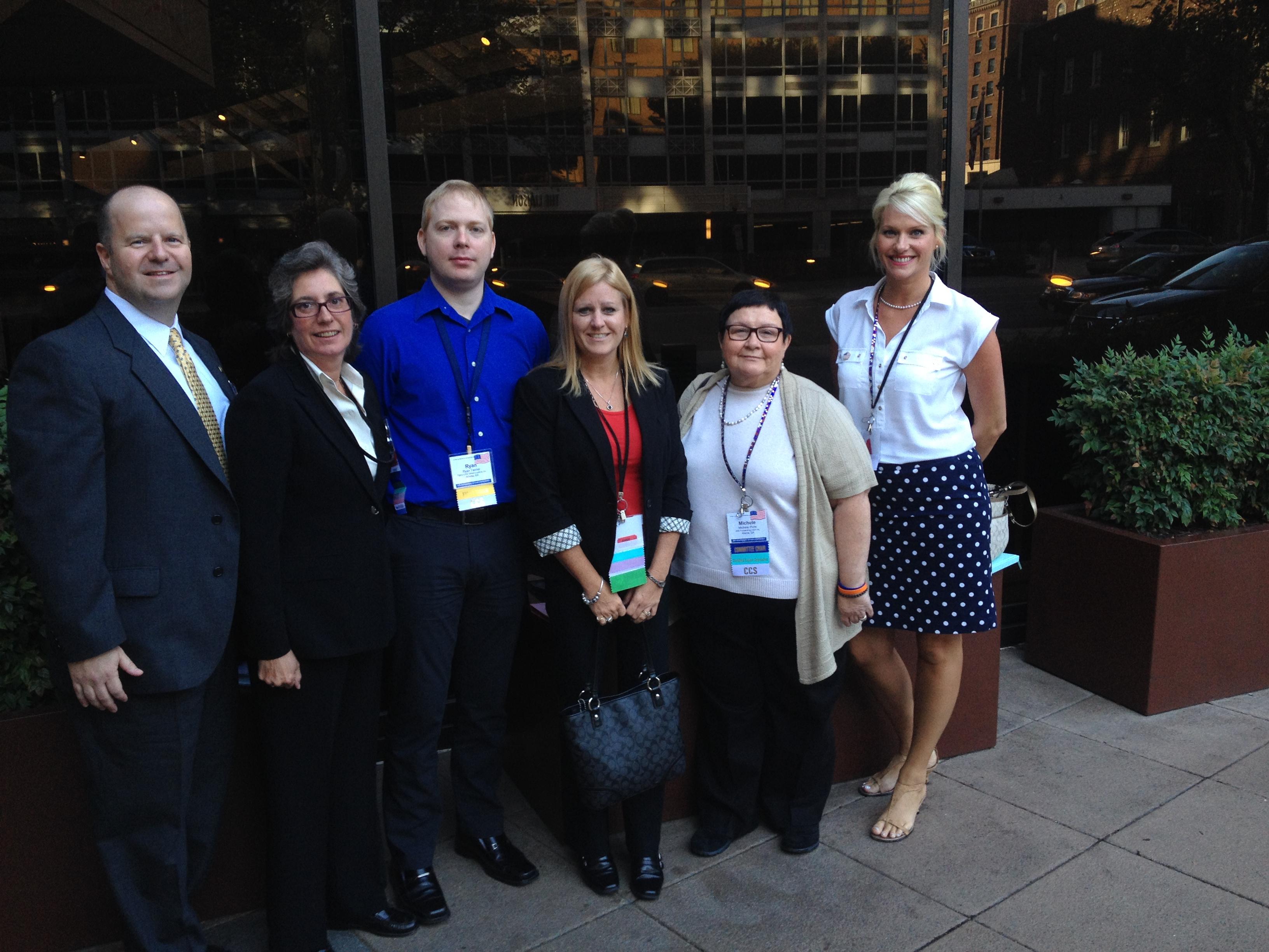 Georgia NCBFAA 2013 GAC Delegation