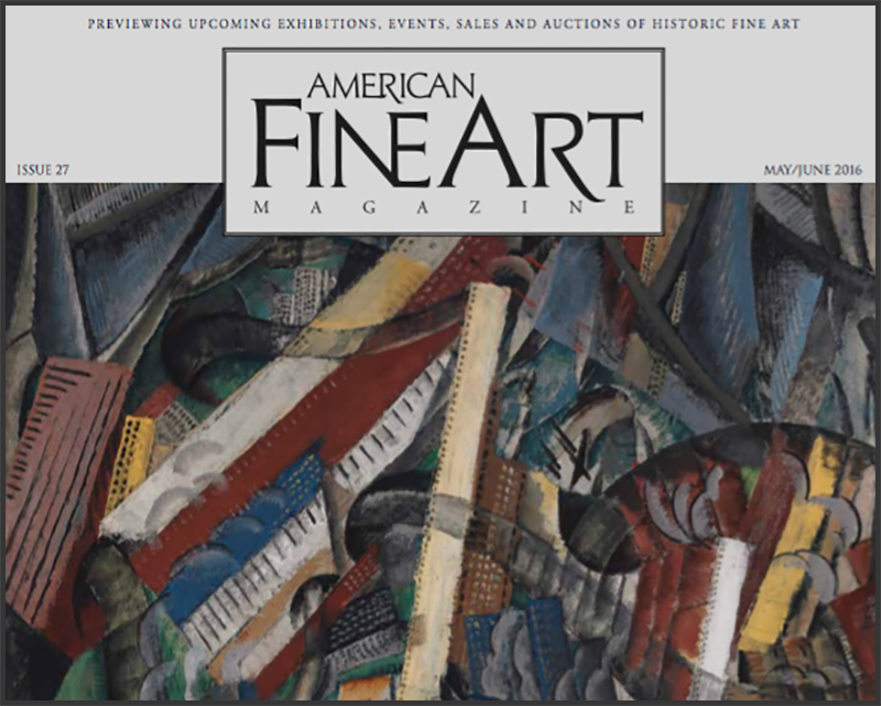 """""""Emerging"""" Receives a Book Review in """"American Fine Art"""" Magazine"""