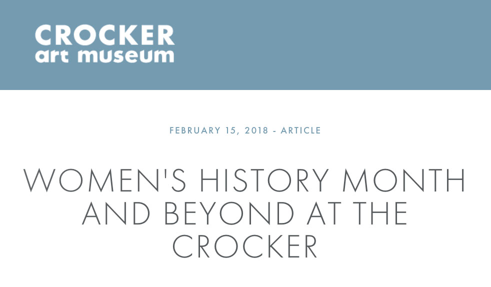 """Crocker Art Museum Acquires a Ruth Miller Kempster Painting Featured in """"Emerging"""""""