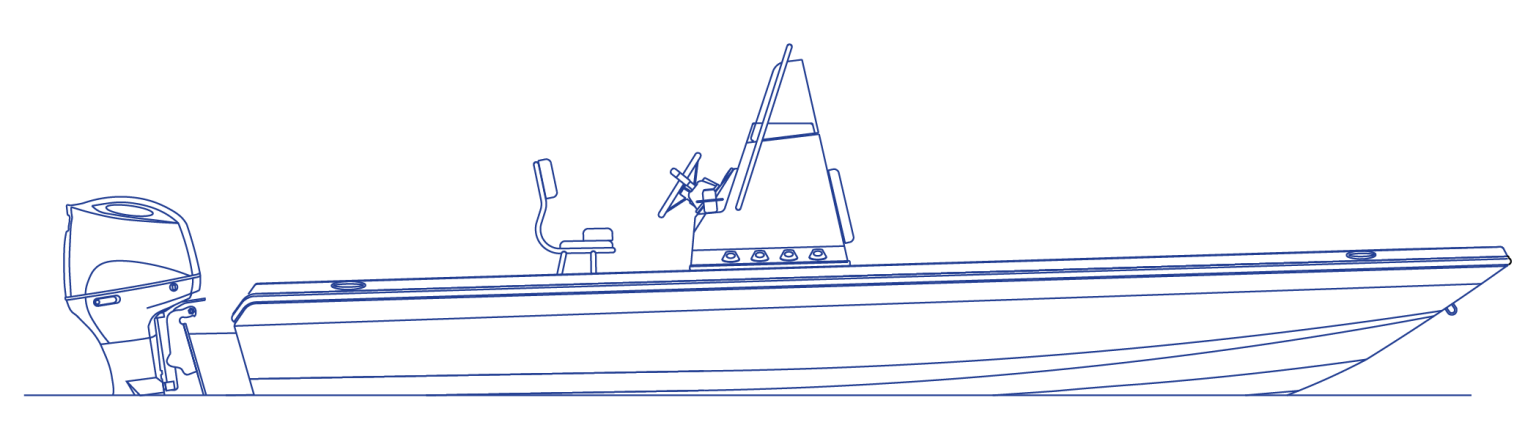 inshore line drawing