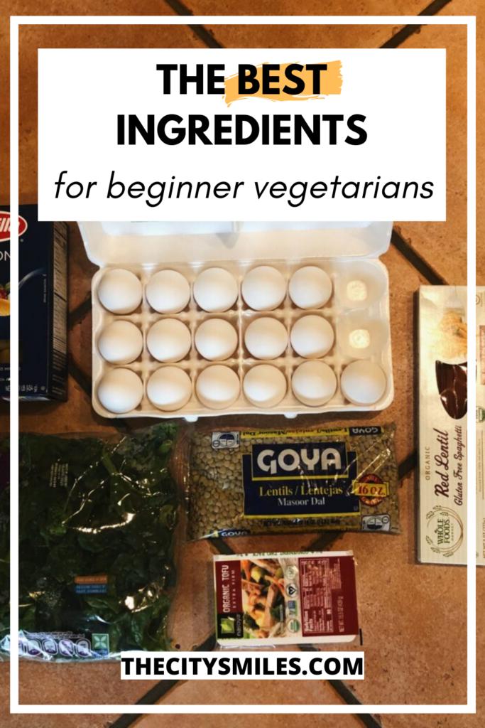 vegetarian basics pin image 2