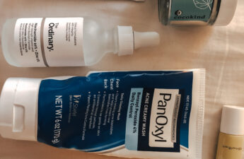 Products I use to stop hormonal acne