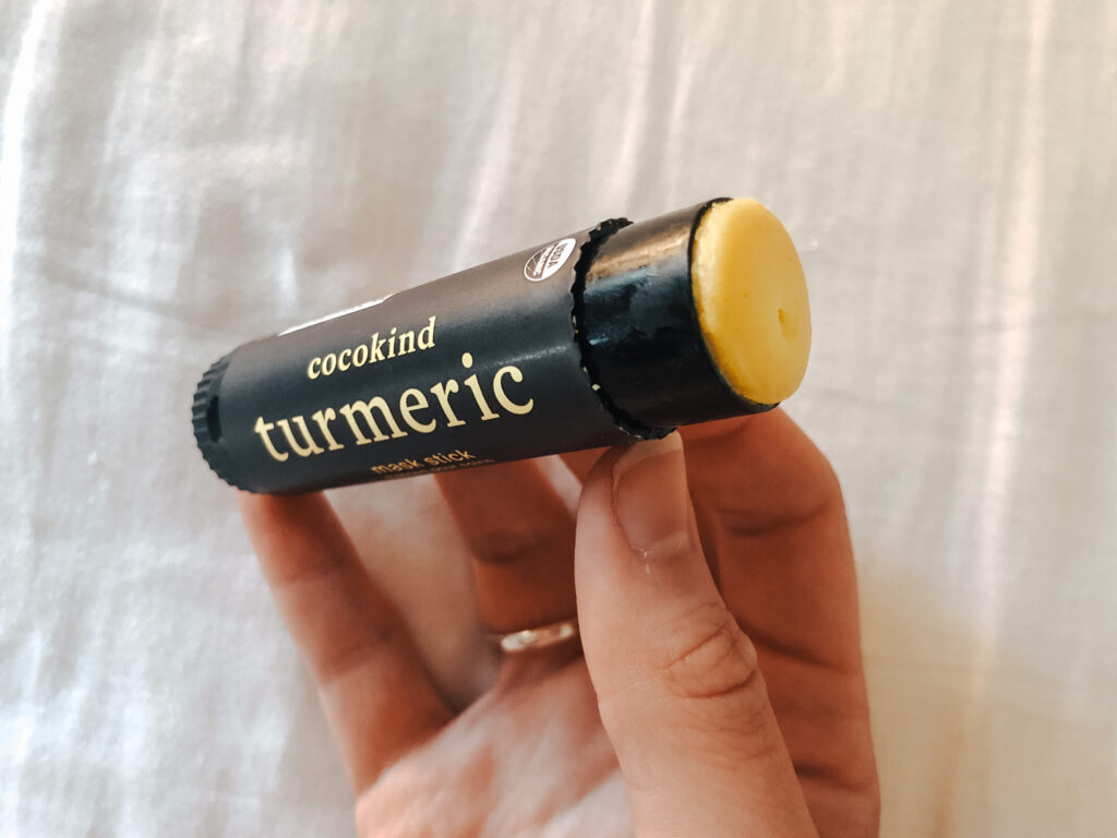 turmeric is an anti-inflammatory, an essential product in treating painful hormonal acne
