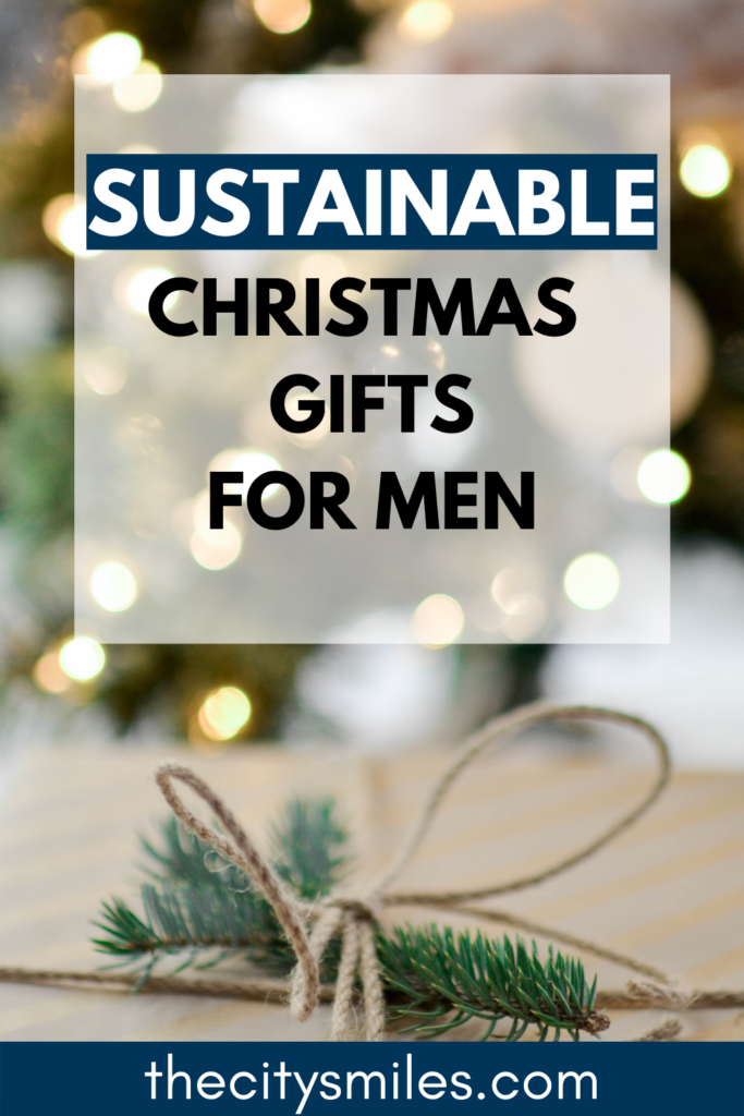 I frequently find shopping for men for Christmas to be so difficult. Nothing ever seems special enough! Fortunately I have you covered with these 10 sustainable Christmas gifts for him. He'll actually love and use all of these items, and the best part? They are probably the best eco friendly gifts on the market. Love the planet and your man this year and shop sustainably!