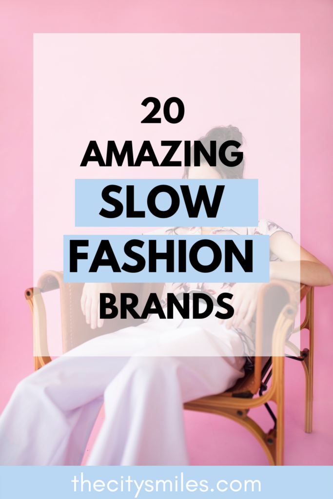 The slow fashion industry is growing more popular every day because fast fashion brands like SheIn and Zara are finally getting called out for their unethical practices. The slow fashion movement works to replace fast fashion by using sustainable textiles, fair trade labor, and less resources. Find a comprehensive list of fast fashion facts and sustainable fashion brands with trendy sustainable alternatives to curate a closet full of slow fashion outfits!