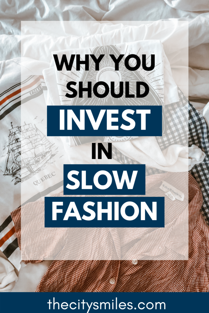 The slow fashion movement and sustainable fashion aesthetic are on the rise, but why? Because fast fashion is destroying the planet and its people. Some fast fashion facts: many factories use child labor, toxic dye pollutes waterways, and cheap fabric is essentially plastic. Slow fashion style is often perceived as expensive and hard to find, but with these amazing sustainable fashion brands at every price point, you can craft the perfect slow fashion outfits for your sustainable lifestyle.