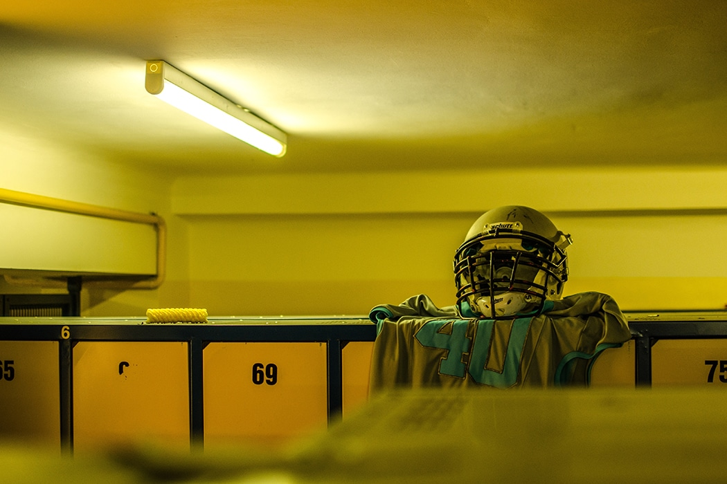 football lockerroom
