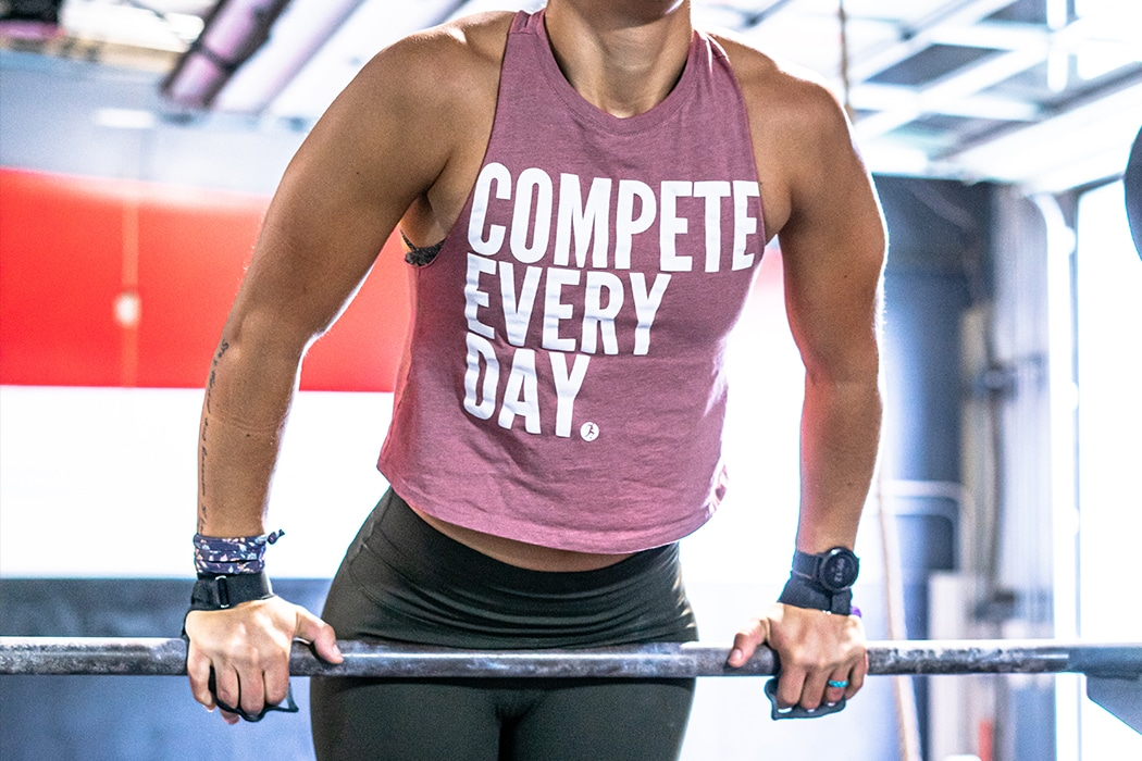 Compete Every Day crop tank