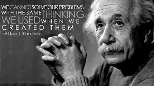 Einstein problem quote