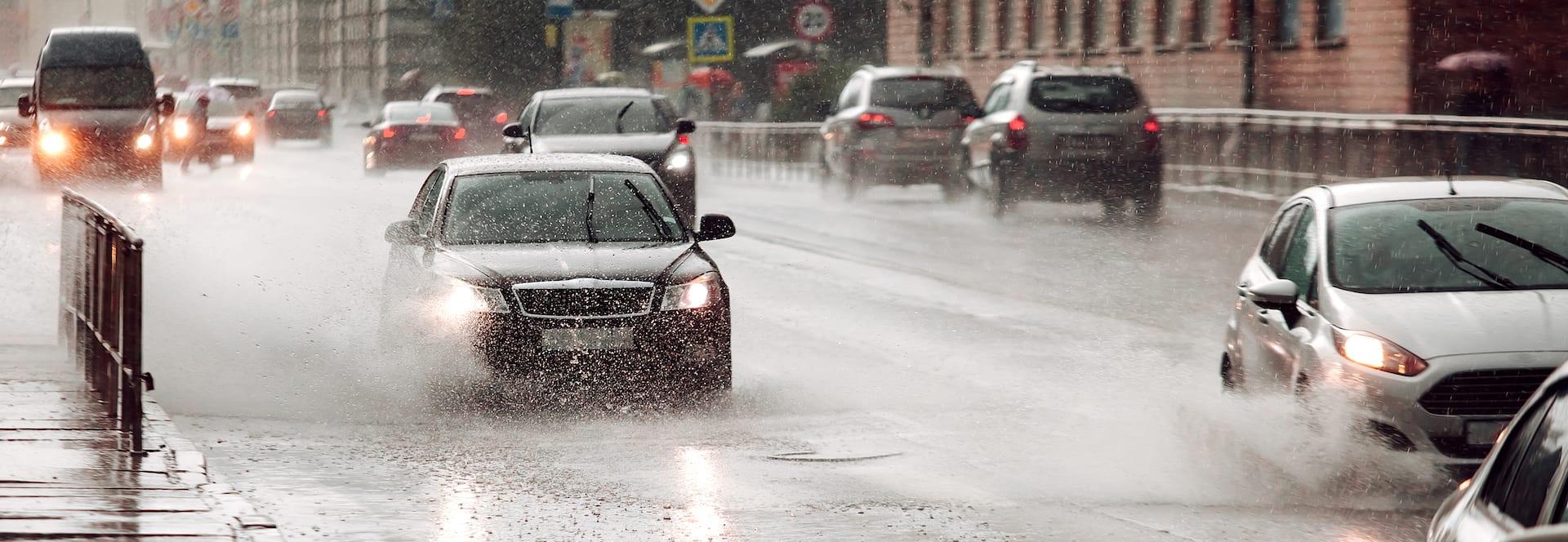 Rainy Streets Personal Injury