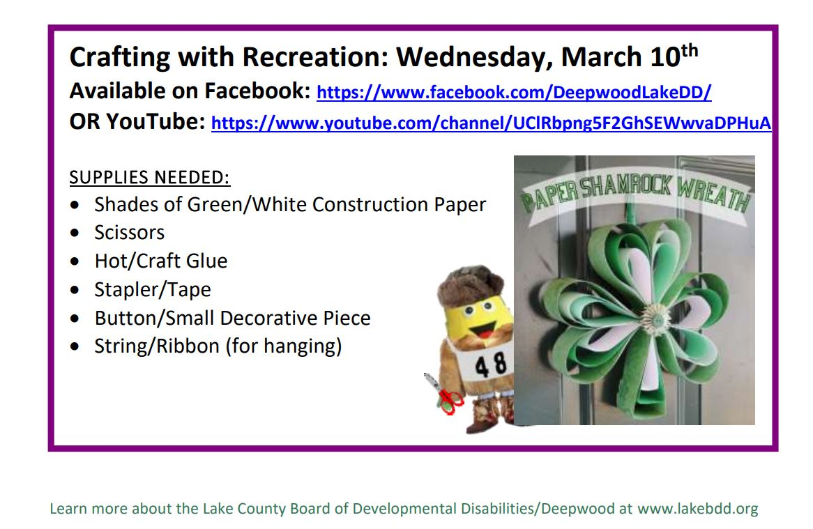 Activity Time With Recreation Services