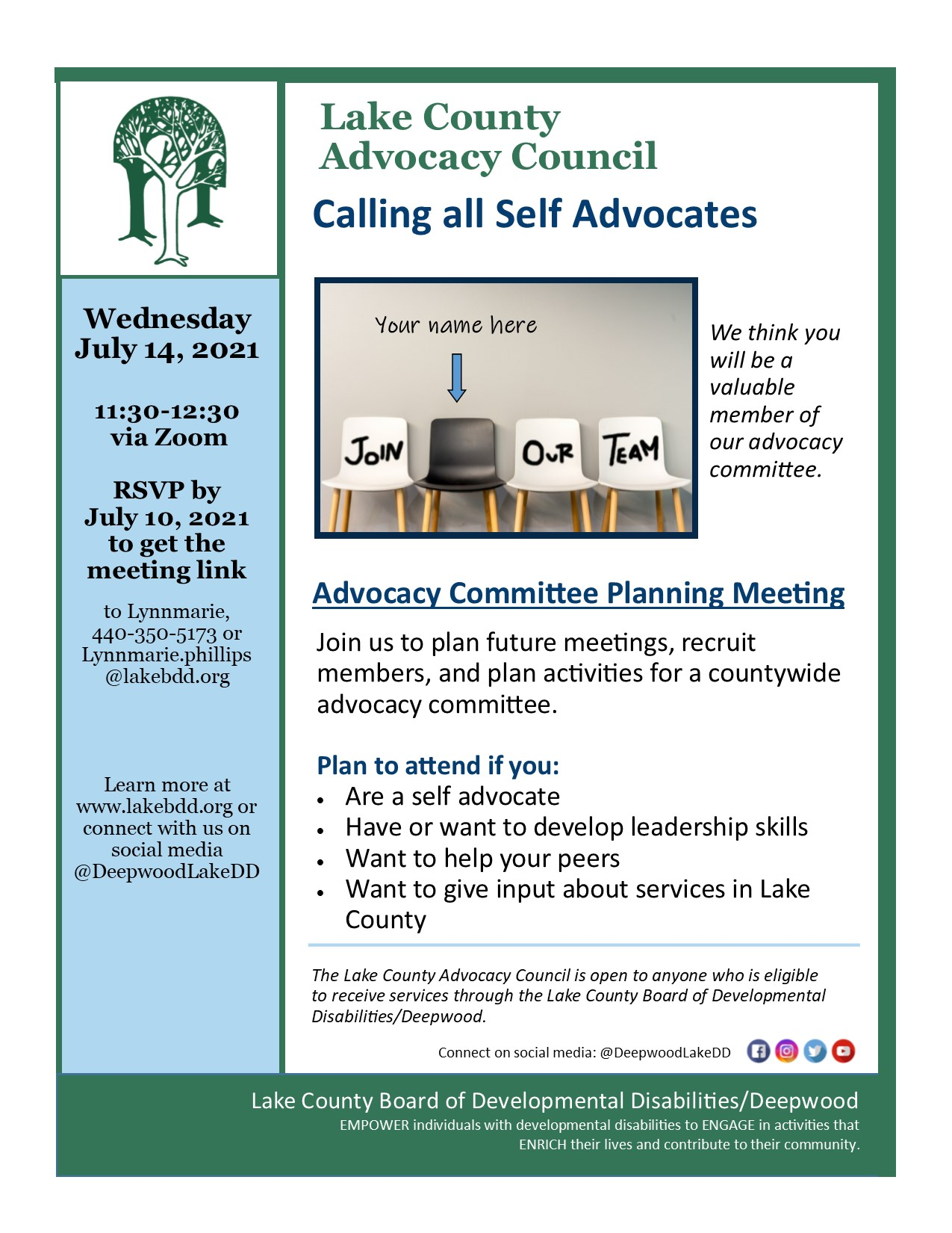 Advocacy Committee Planning Meeting