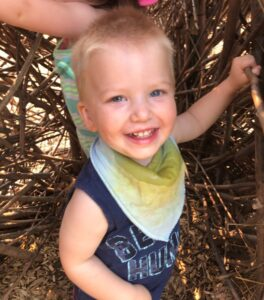 Cayden benefits from early intervention services at Broadmoor School in Lake County, Ohio.