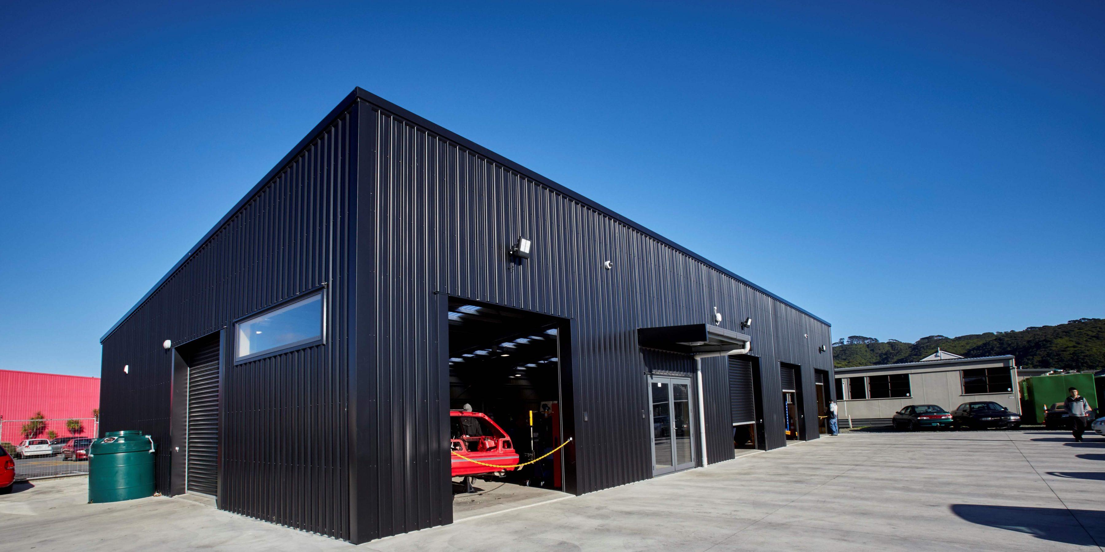 commercial steel buildings