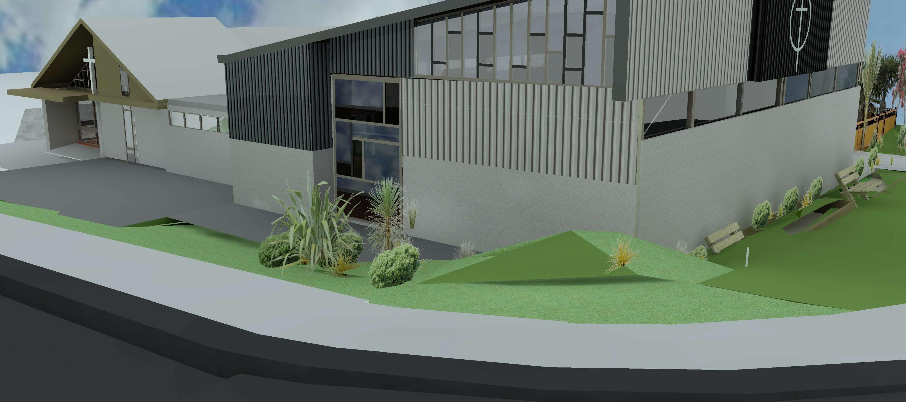 3d modelling, steel buildings wellington