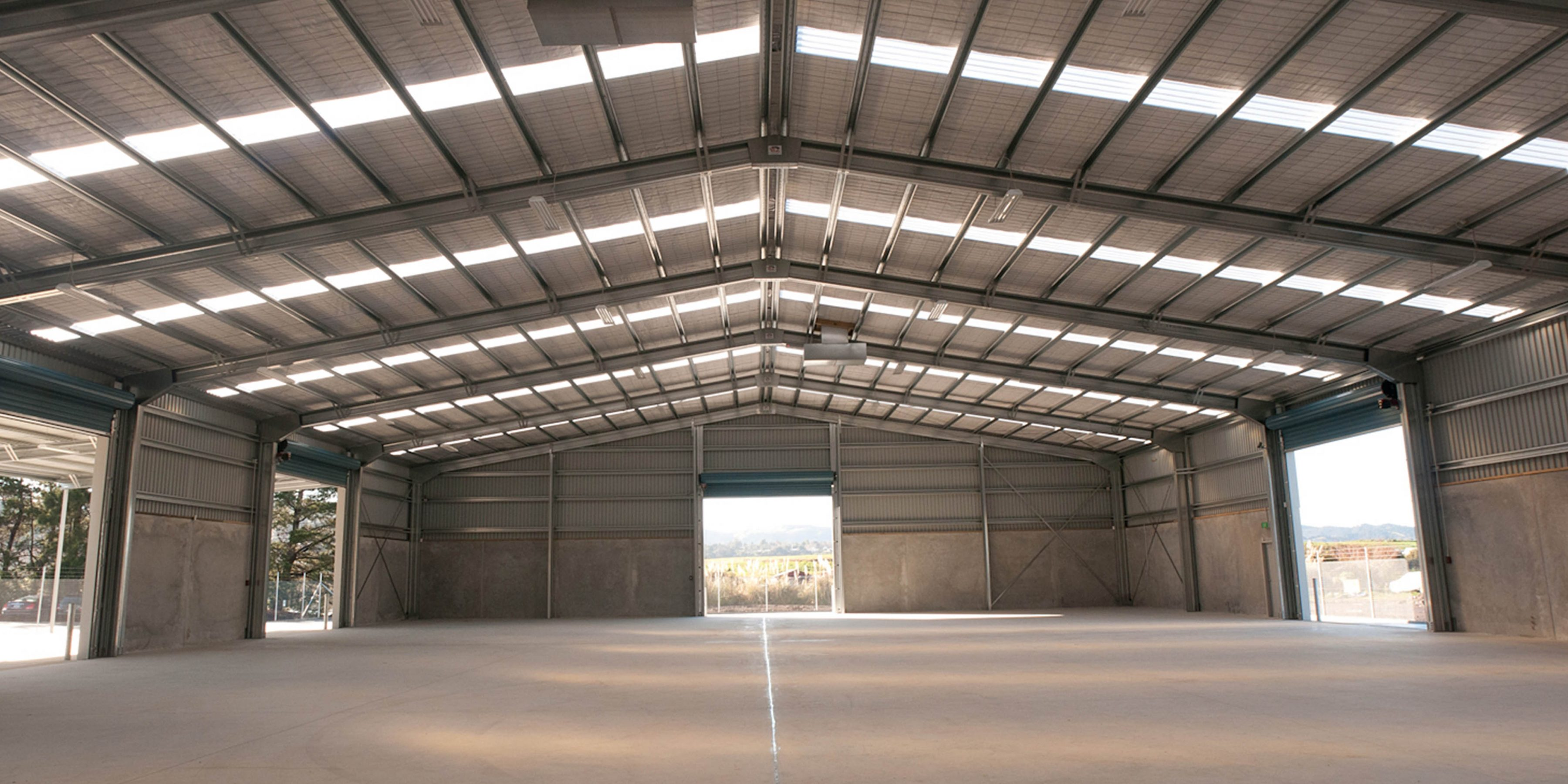 commercial storage buildings, wide span shed, clear span shed