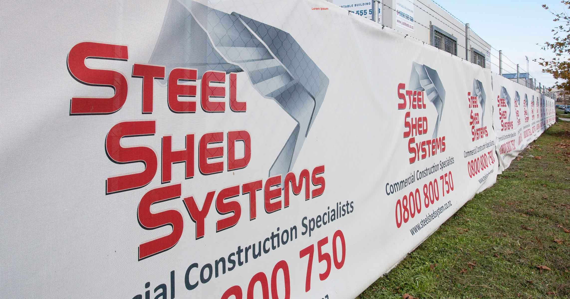 steel shed systems