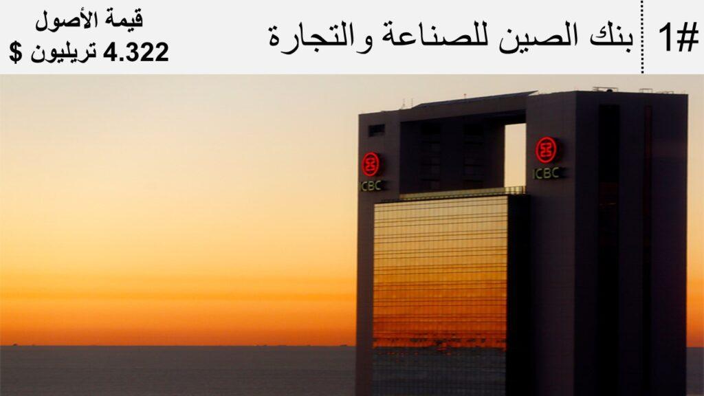 أكبر عشرة بنوك في العالم
