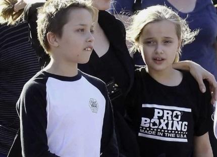 Knox Jolie Pitt and Vivienne Jolie Pitt - $200 million