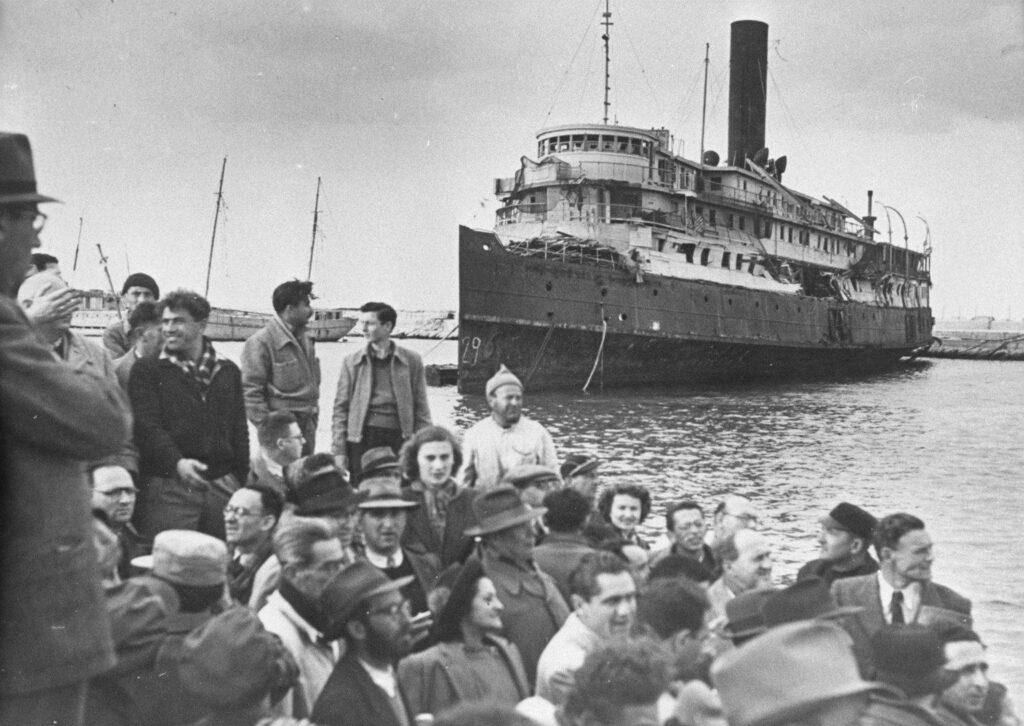 زيادة أعداد المهاجرين اليهود إلى فلسطين