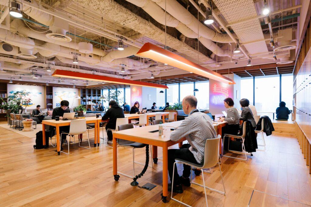 مقر شركة we work في بكين