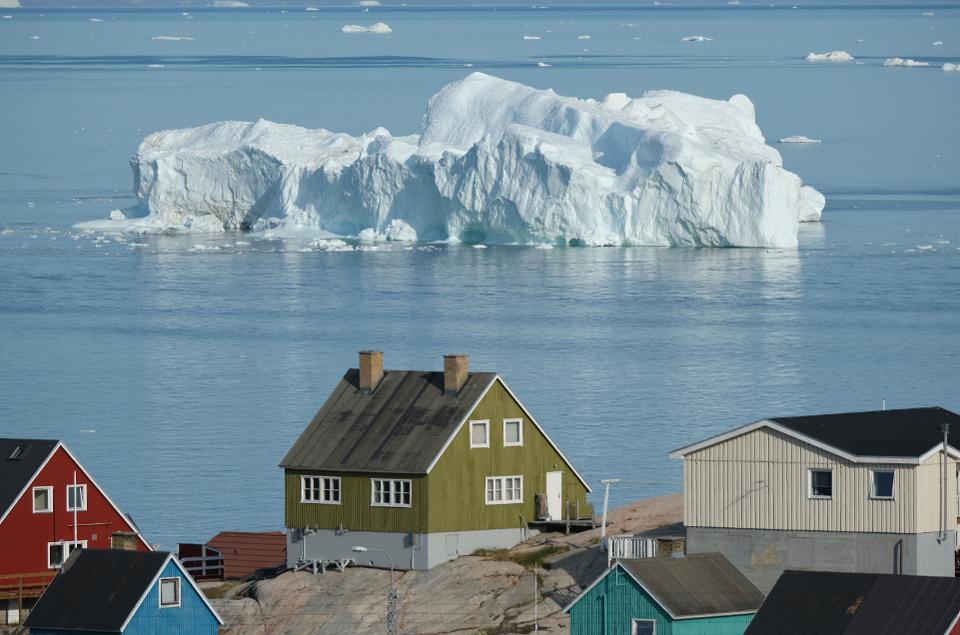 جزيرة غرينلاند لديها النهار الأطول في العالم لمدة شهرين