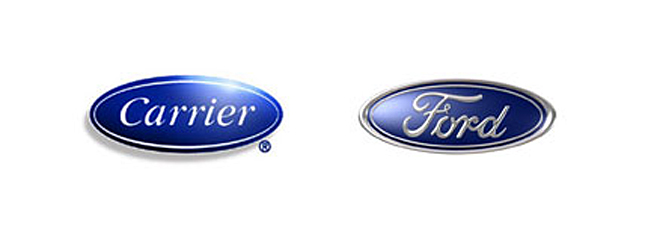 carrier and ford