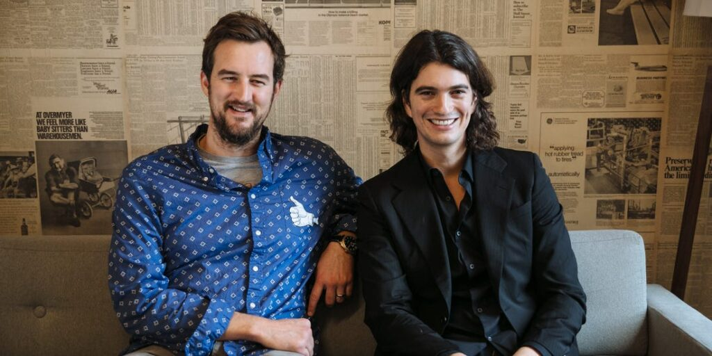 miguel mckelvey and adam neumann