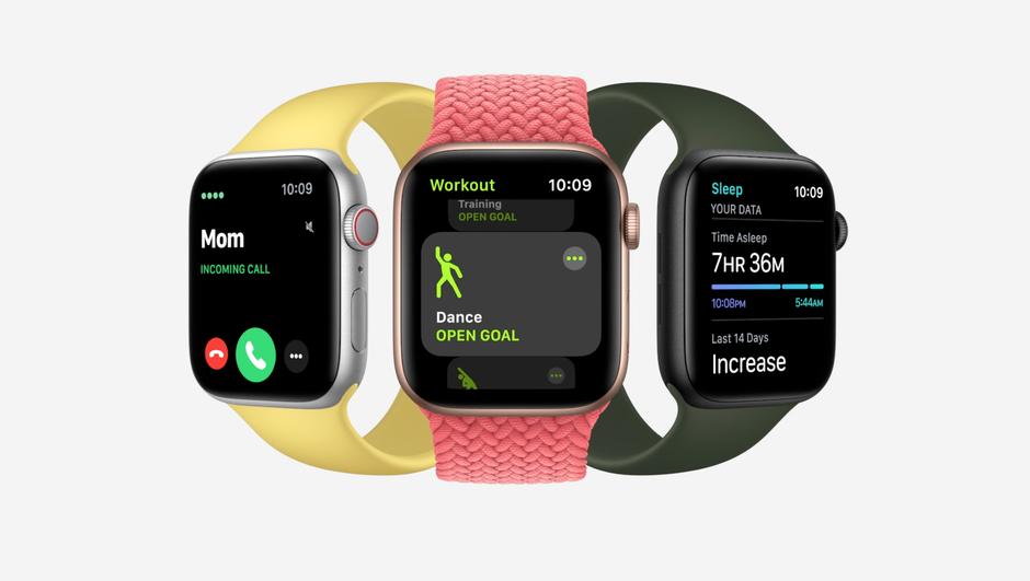 السلسلة الثانية من الساعات الذكية: Apple Watch SE