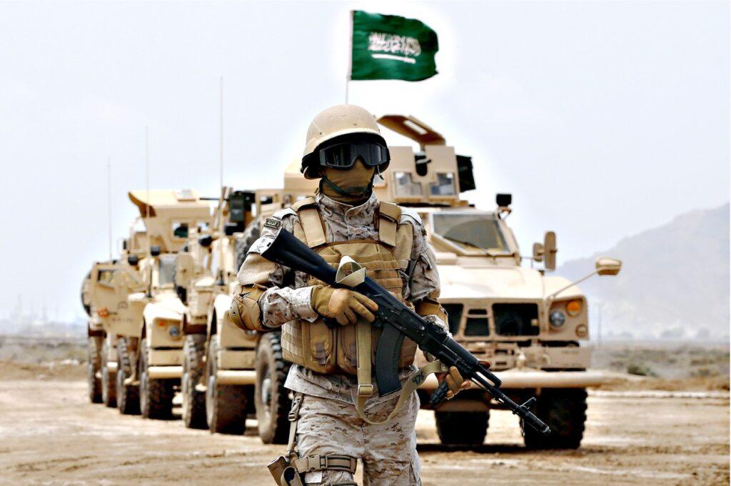 أضخم 10 جيوش في العالم من حيث الإنفاق السنوي : السعودية