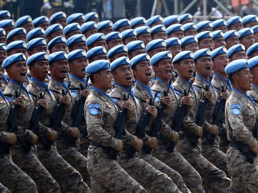 أضخم 10 جيوش في العالم من حيث الإنفاق السنوي: الجيش الصيني
