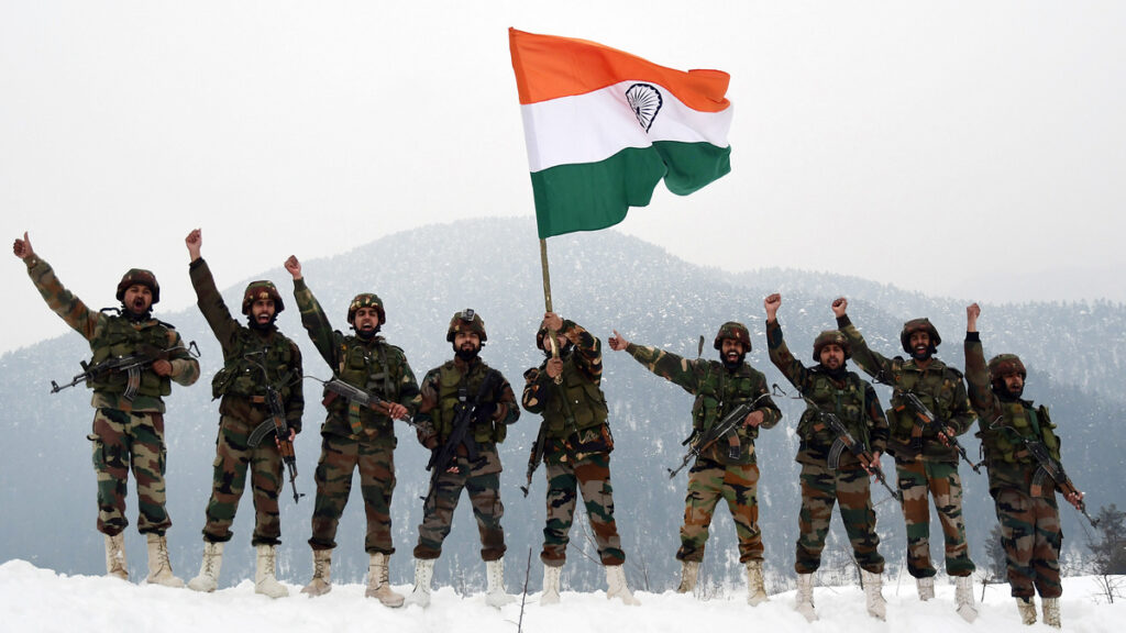 أضخم 10 جيوش في العالم من حيث الإنفاق السنوي : الجيش الهندي