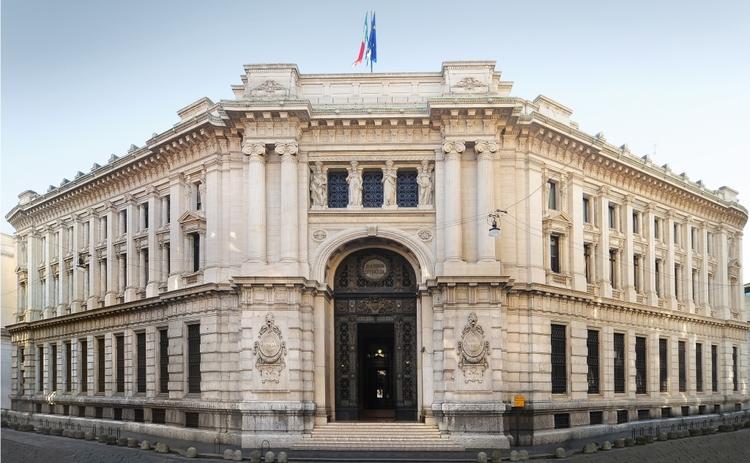 أكبر 10 بنوك مركزية في العالم بنك ايطاليا المركزي